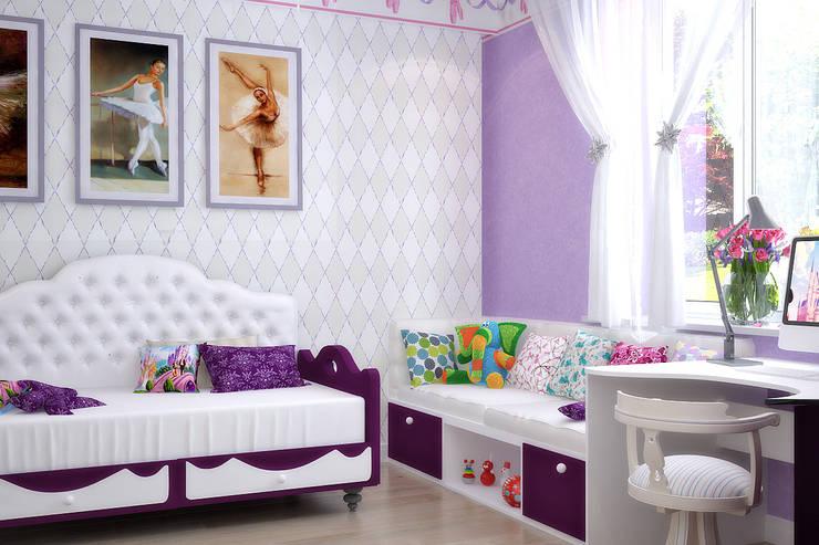 Дом в Средиземноморском стиле в Симферополе: Дома в . Автор – Студия дизайна Interior Design IDEAS