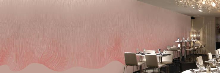 Muurbloem Design Studio_Collection Curves & Stripes_Shifted_RD:  Muren & vloeren door Muurbloem Design Studio