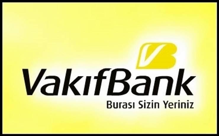 Ortaköy Parke İç Dekorasyon – Vakıfbank Tekirdağ Şube:  tarz Ofisler ve Mağazalar