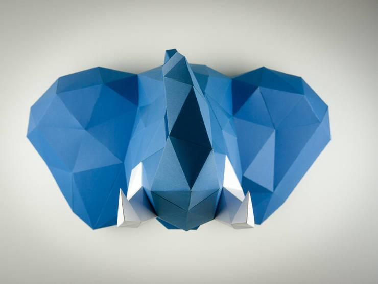 Elephant Papertrophy: modern  von Papertrophy,Modern