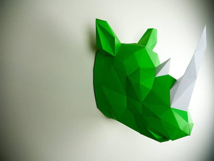 Rhino Papertrophy:   von Papertrophy,Minimalistisch