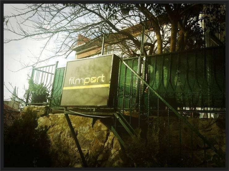 Ortaköy Parke İç Dekorasyon – Filmport Production Ofis Çalışması:  tarz Ofis Alanları