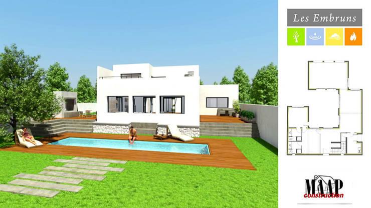 MAAP Construction 'Les Embruns'.:  de style  par Cedreo Studio