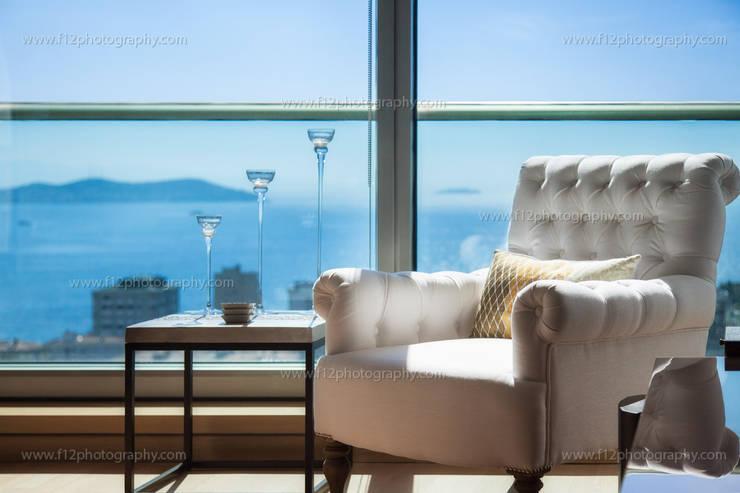 f12 Photography – Regnum Sky Apartment:  tarz Oturma Odası
