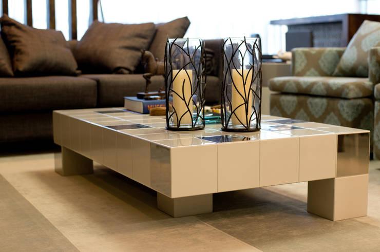 Descanso na cidade: Salas de estar modernas por ArchDesign STUDIO