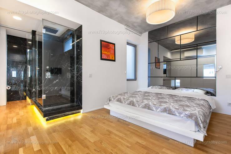 f12 Photography – 5 Flats: minimal tarz tarz Yatak Odası