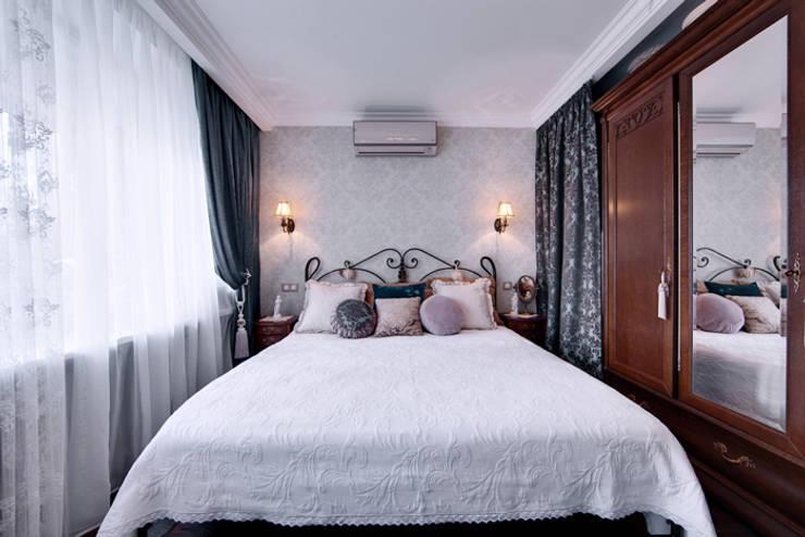 Очарование старой Москвы: Спальни в . Автор – Порядок вещей - дизайн-бюро