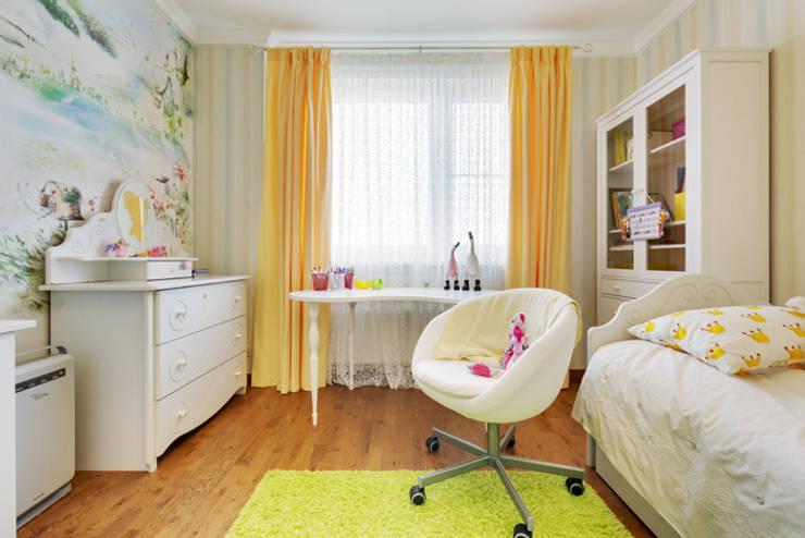 Яркая история: Детские комнаты в . Автор – Порядок вещей - дизайн-бюро, Эклектичный