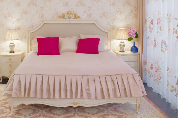 Классический мотив: Спальни в . Автор – Порядок вещей - дизайн-бюро