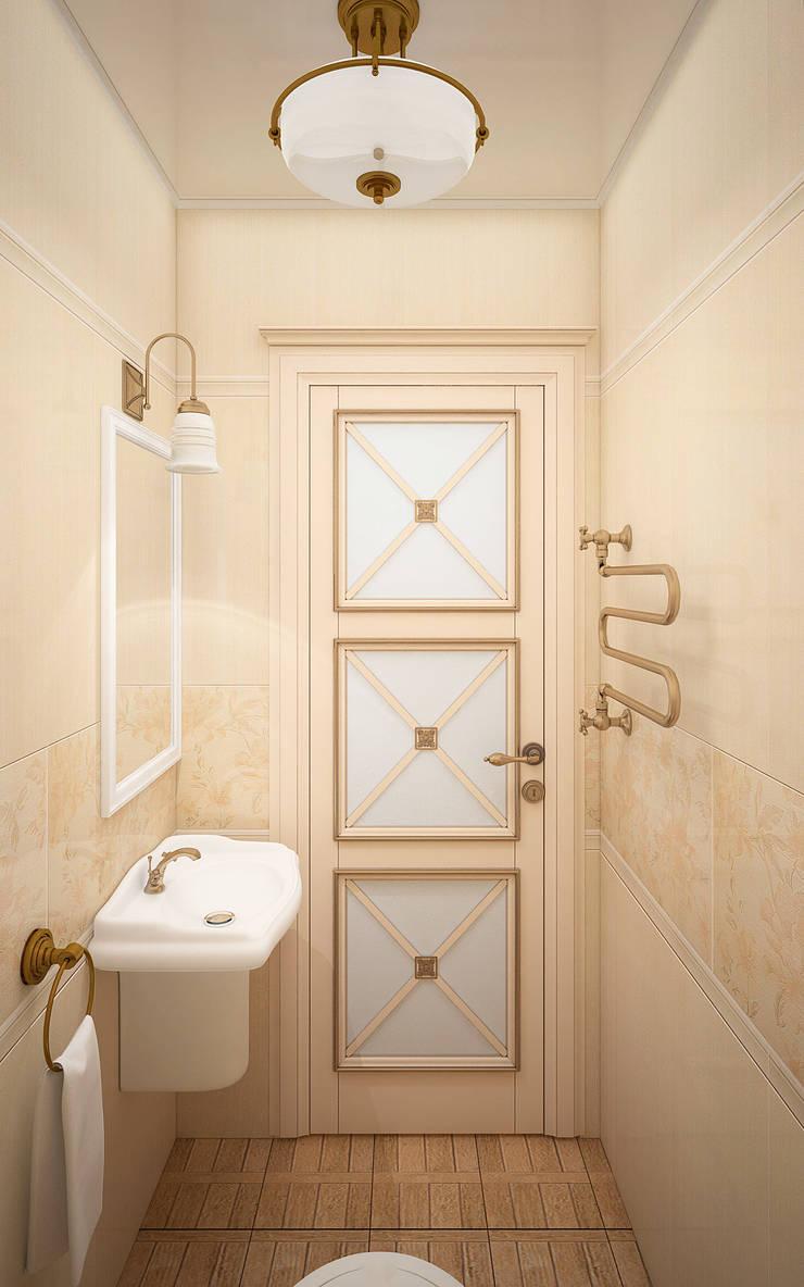 Квартира в Судаке в неоклассическом стиле: Ванные комнаты в . Автор – Студия дизайна Interior Design IDEAS