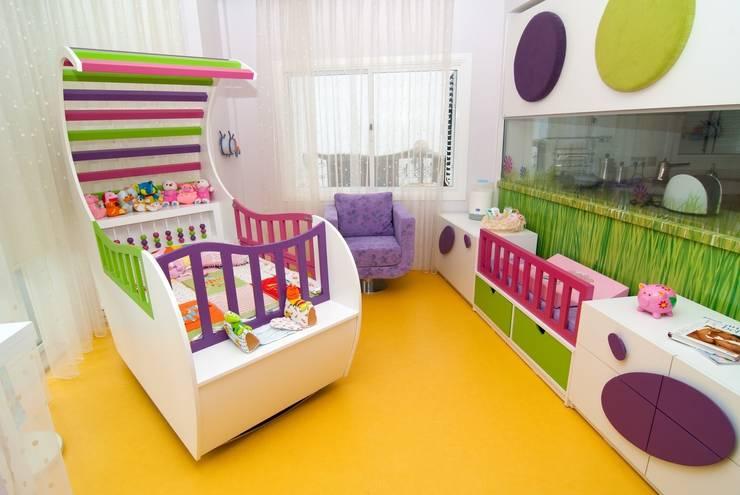 Şölen Üstüner İç mimarlık – Perçin evi/ Kıbrıs:  tarz Çocuk Odası