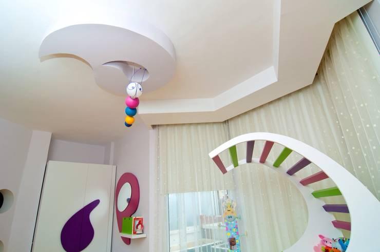 Şölen Üstüner İç mimarlık – Perçin evi:  tarz Çocuk Odası