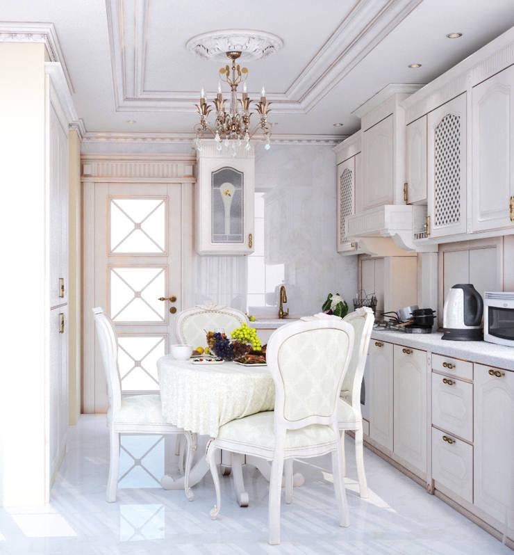 Квартира в Судаке в неоклассическом стиле: Кухни в . Автор – Студия дизайна Interior Design IDEAS