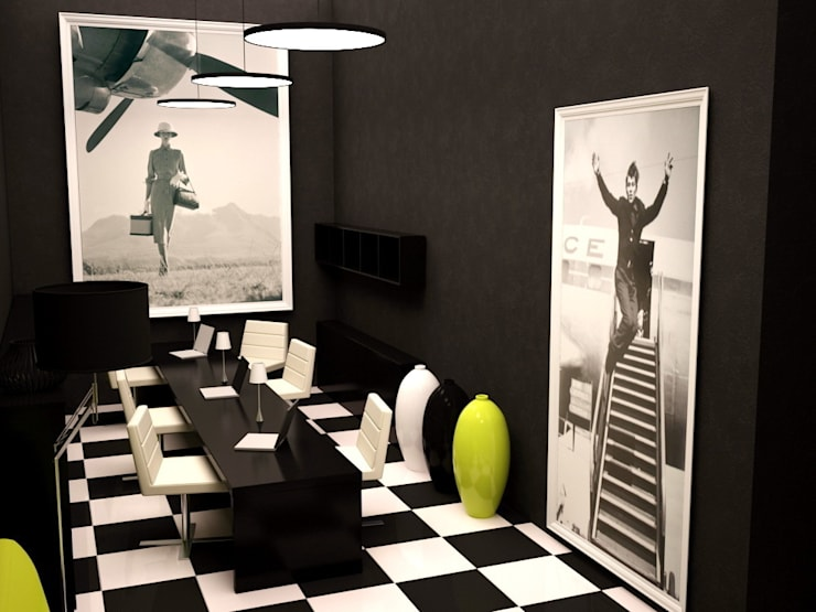 Зона презентации и приема клиентов:  в . Автор – PROTOTIPI architects