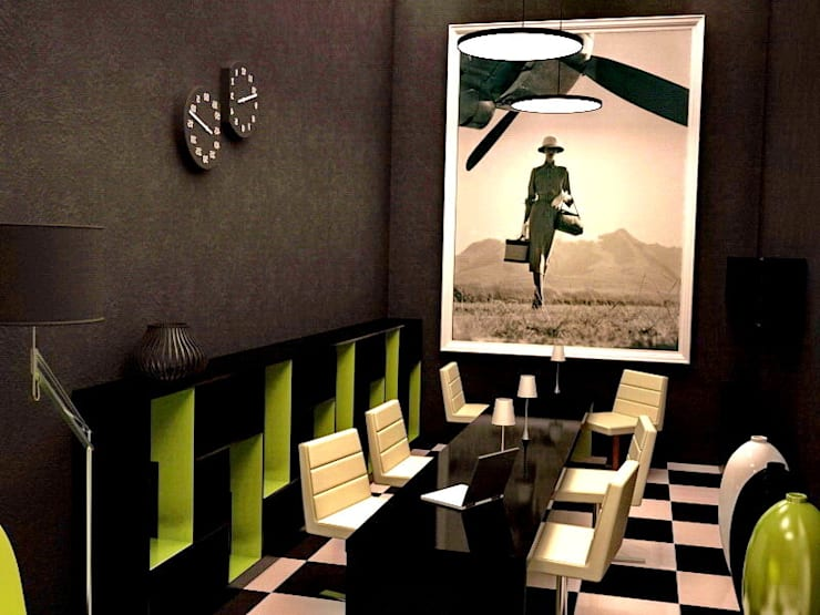 Зона презентации и приема клиентов :  в . Автор – PROTOTIPI architects