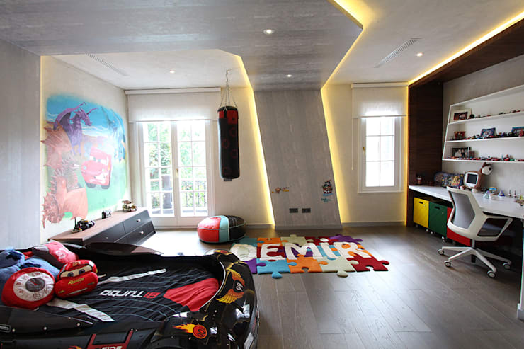 Nursery/kid's room by Orkun İndere Interiors