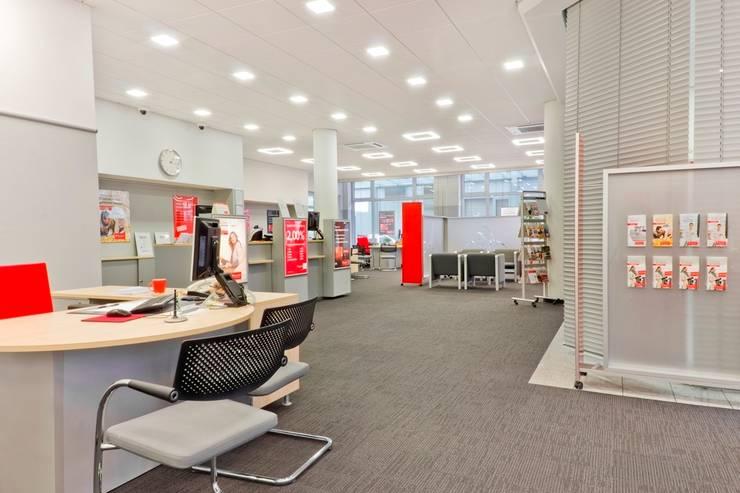 Santander Bank Mannheim | Deutschland:  Bürogebäude von Baierl & Demmelhuber Innenausbau GmbH,