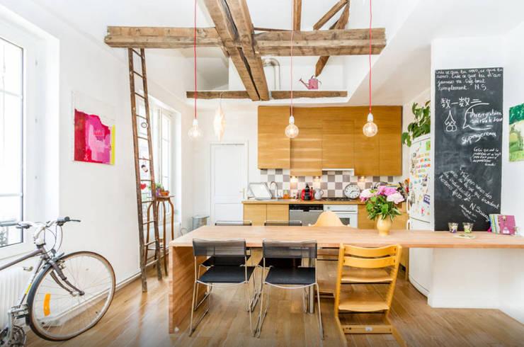 Cocinas de estilo  por Atelier Jérôme Lanici