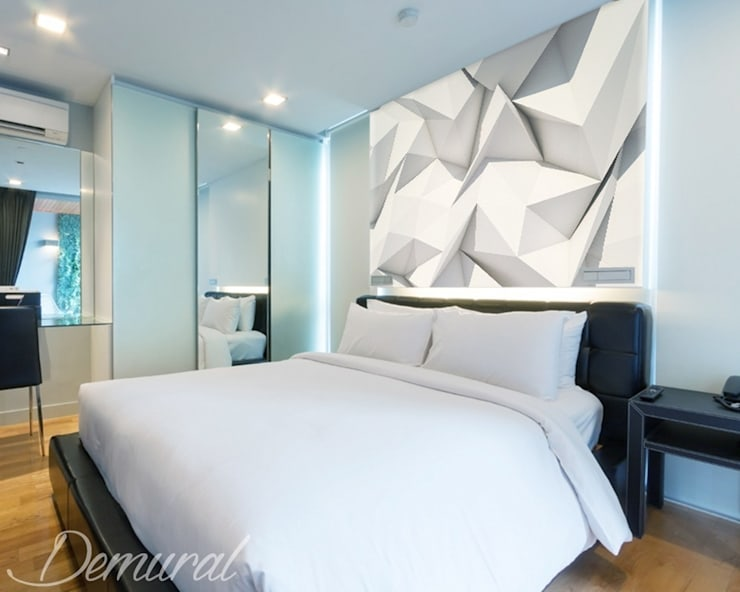 A bedroom origami:  Bedroom by Demural