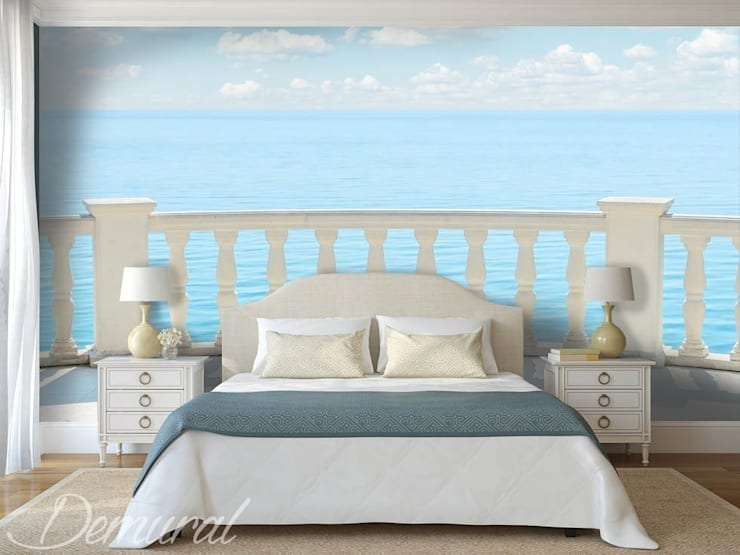 A bed room porch:  Bedroom by Demural