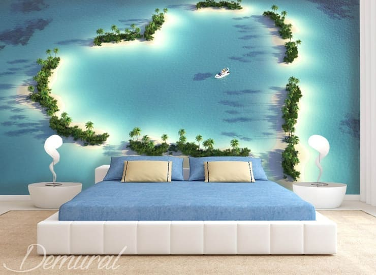 An atoll stole:  Bedroom by Demural