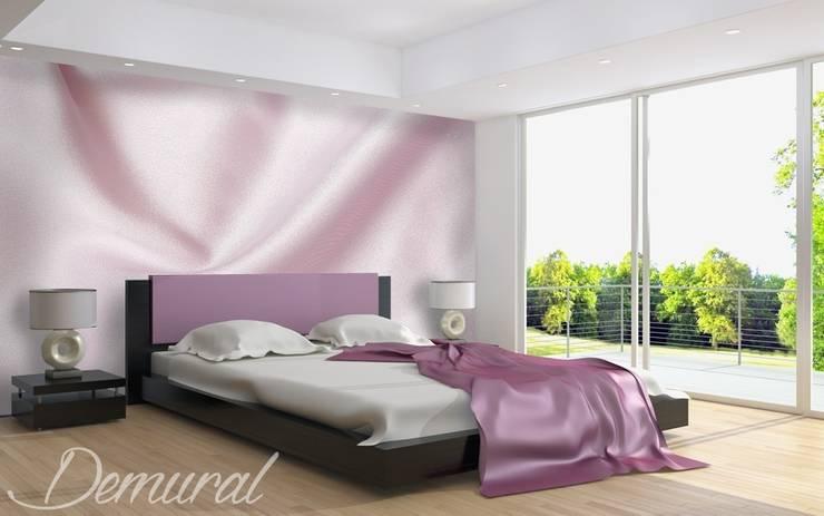 Elegant sateen:  Bedroom by Demural