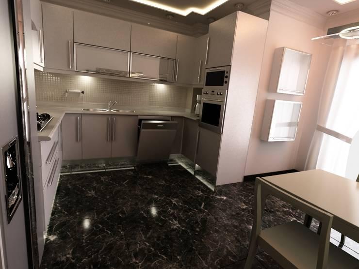 MN Project & Interior – Sakura Evleri - Kitchen:  tarz Mutfak