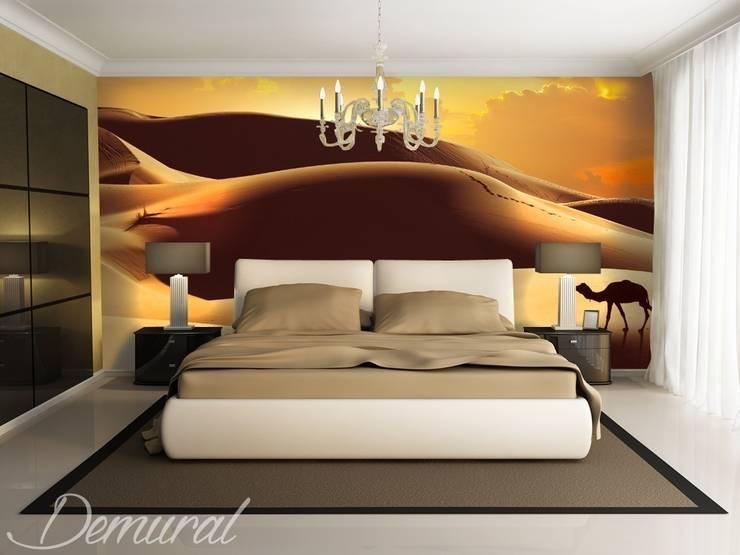 Fata Morgana and a caravan:  Bedroom by Demural