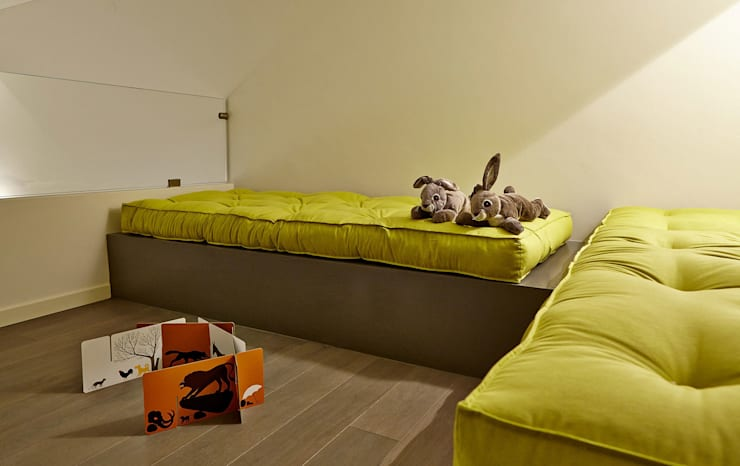 HOU16 Camera da letto moderna di mimoa Moderno