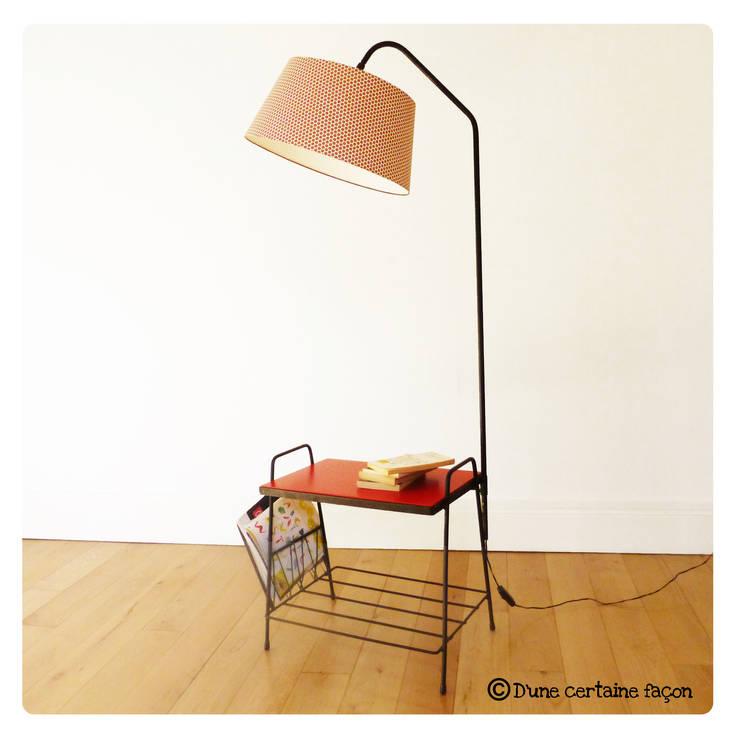 Lampe liseuse vintage, revisitée tout en couleur: Maison de style  par D'une certaine façon