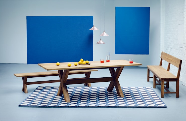 Kris Dining Table:  Dining room by Heal's