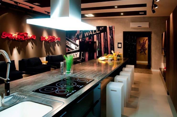 GOURMET ART - CASA COR 2012 - (Fotos Lio Simas): Cozinhas  por ArchDesign STUDIO