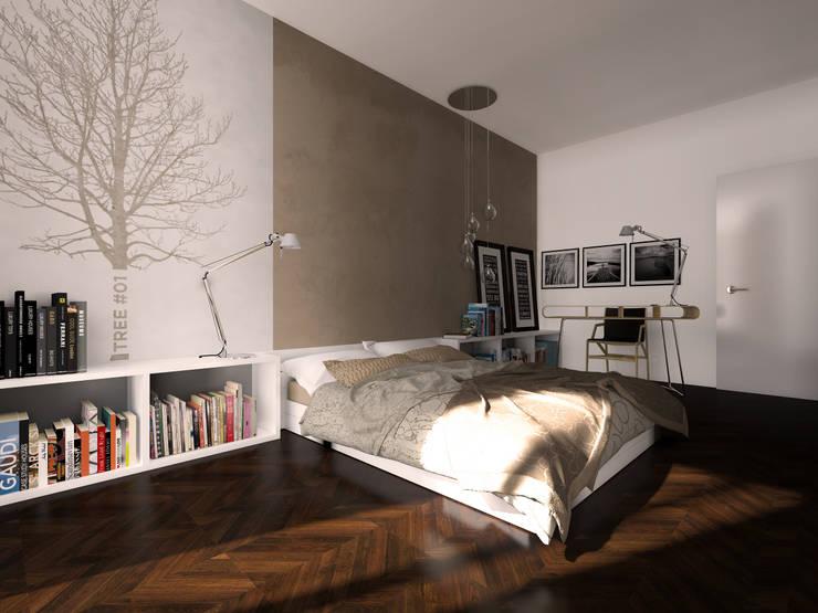Chambre de style  par Graziella Fittipaldi Architetto