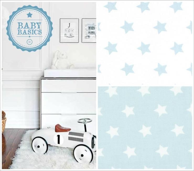 Puf BabyBasics DREAMS modelo Blue Stars: Habitaciones infantiles de estilo  de BabyBasics