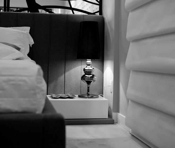 Suíte Master - CASA COR 2013 - (Fotos Lio Simas): Quartos  por ArchDesign STUDIO