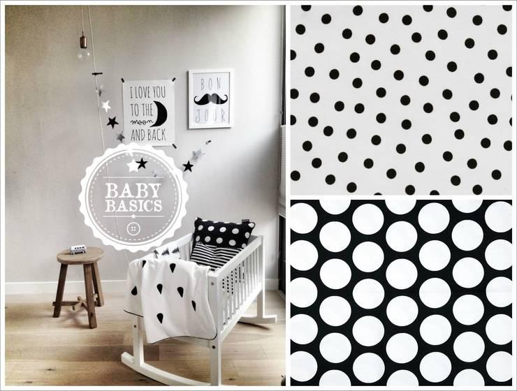 Dotty Dreams B&W Inspiration: Habitaciones infantiles de estilo  de BabyBasics