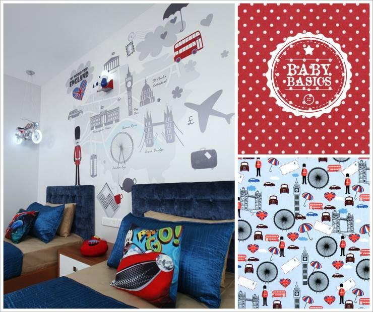 Bristish Style Inspiration: Habitaciones infantiles de estilo  de BabyBasics