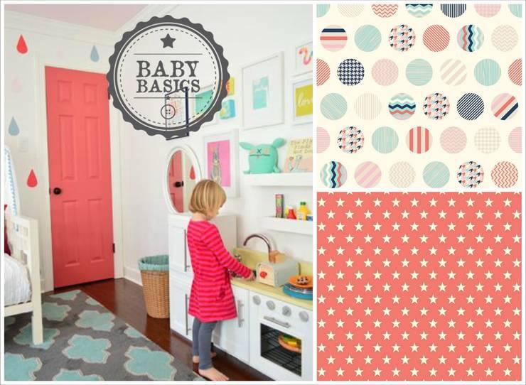 Coral Biscuits Inspiration: Habitaciones infantiles de estilo  de BabyBasics