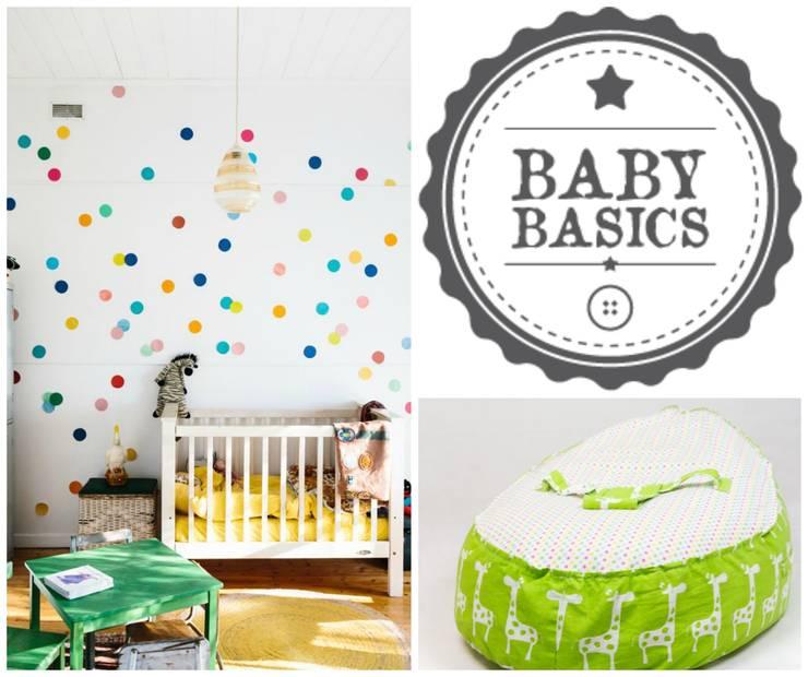 Green Safari Inspiration: Habitaciones infantiles de estilo  de BabyBasics
