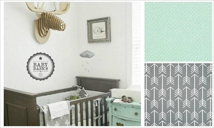 Mint & Grey Inspiration: Habitaciones infantiles de estilo  de BabyBasics