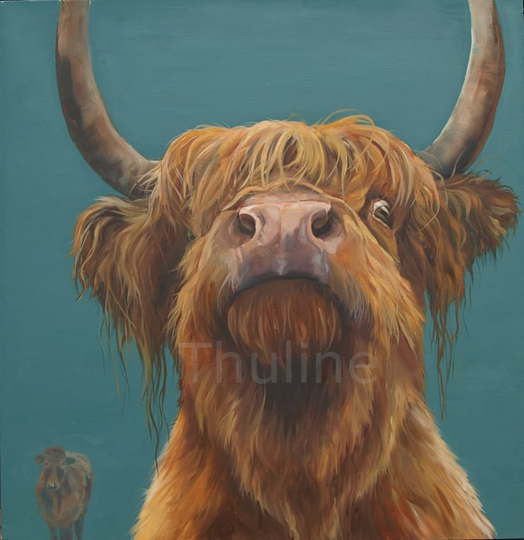 'the Highland way':  Artwork by Thuline, Studio-Gallery