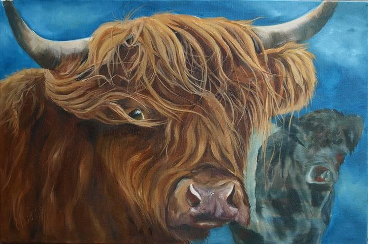'Windswept':  Artwork by Thuline, Studio-Gallery