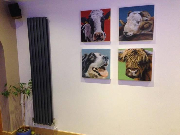 4 animal prints:  Artwork by Thuline, Studio-Gallery