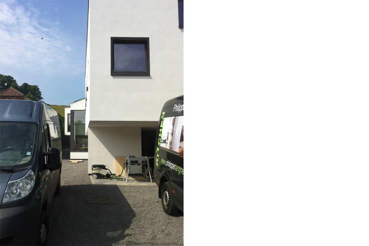 Snake House – Court-Saint-Etienne, Belgium Maisons modernes par jdArchitecture Moderne