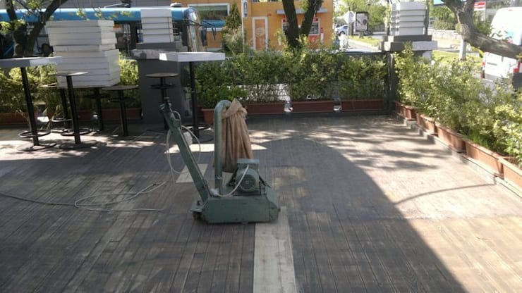 Ortaköy Parke İç Dekorasyon – Etiler Şamdan Restaurant :  tarz Yeme & İçme