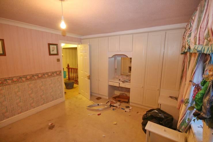 Bedroom 1 - before:   by Aura Designworks Ltd
