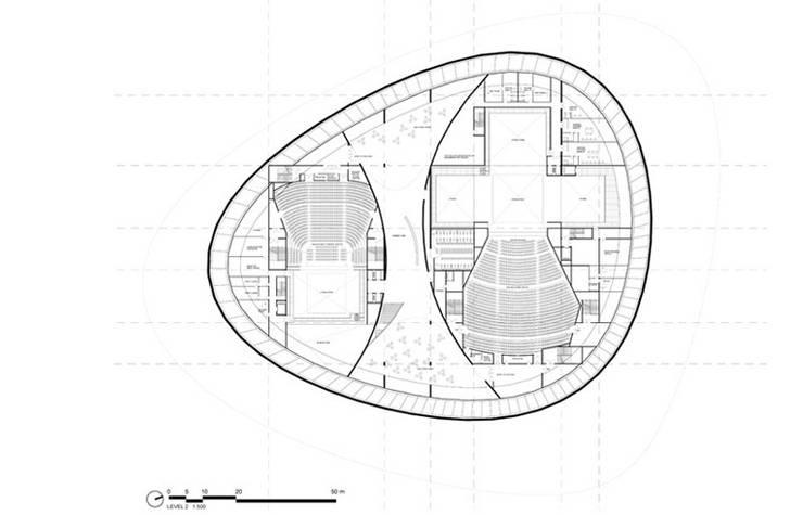 Trung tâm Hội nghị by Wen Qian ZHU Architecture