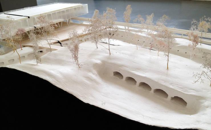Maquette: Palais des congrès de style  par Wen Qian ZHU Architecture