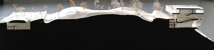 Maquette en coupe: Palais des congrès de style  par Wen Qian ZHU Architecture