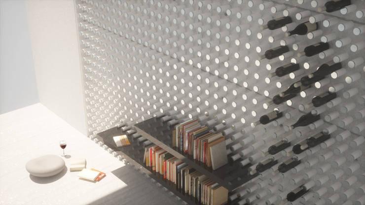 Wen Qian ZHU Architecture:  tarz Duvarlar